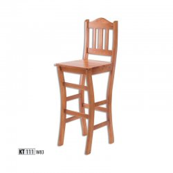 KT111 koka bāra krēsls. Izvelkama bāra lete. Bāra krēsli