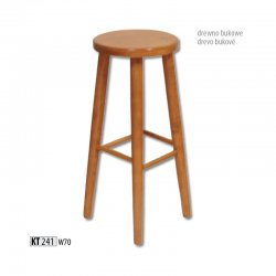 Bāra krēsli. Virtuves mēbeles bāra krēsli. KT241 koka bāra krēsls