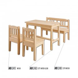 AD242 kids table - Poland - Drewmax - Baby tables - Childrens room