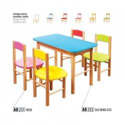 AD251 детский стул. Детские стулья. Bērnu grozāmie krēsli