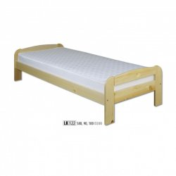 Koka priežu gultas. Gultas no koka. LK122 koka gulta