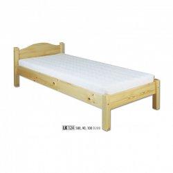 LK124 деревянная кровать - Деревянные кровати  - Новинки - Купить Мебель