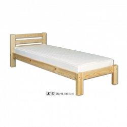 LK127 koka gulta. Koka priežu gultas. Gultas no koka