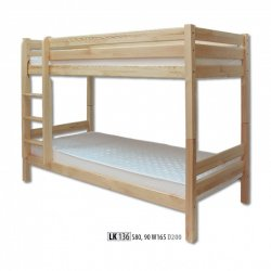 Drewmax LK136 wooden bunk bed Poland