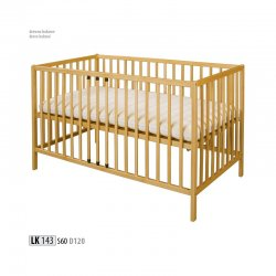 Drewmax LK143 kids wooden bed Poland