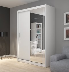 Wardrobes with sliding doors - Novelts Fado 150 with mirror Sale Furniture