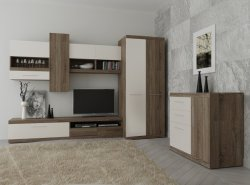 Bog Fran - Furniture Manufacturer Poland - Modern wall units - Cheap TOKIO wall unit with cupboard