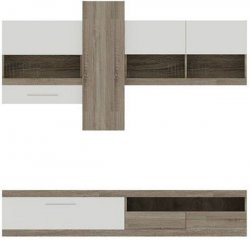 Bog Fran - Furniture Manufacturer Poland - Modern wall units - Cheap TOKIO wall unit without cupboard