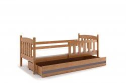 Gultinas bernu ar rakstamgaldu un skapi KUBUŠ 190 bērnu gulta Gultiņas Gultas