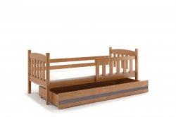 Zema bernu gulta. KUBUŠ 190 bērnu gulta. Gultiņas Gultas