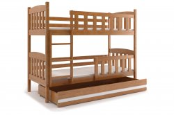KUBUŠ 190 двухъярусная детская кровать - Кровати двухъярусные  - Новинки - Купить Мебель
