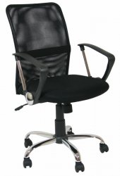 Armchair Apollo Black - BS - Office chairs - Furniture at WAREHOUSE