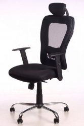 Office Armchair Lindy (black) - BS - Office chairs - Furniture at WAREHOUSE