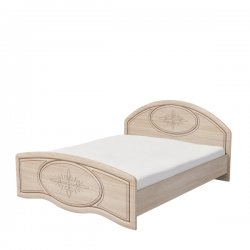 Фото гарнитура для прихожой. ВАСИЛИСА К2-160 кровать. Полутороспальные кровати