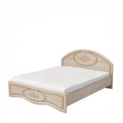 Фото гарнитура для прихожой. ВАСИЛИСА К1-160 кровать. Полутороспальные кровати