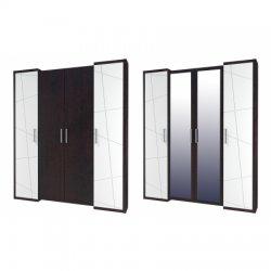 БАРСЕЛОНА МН-115-04 шкаф. Шкафы 4-дверные. Декор квартир