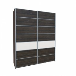Wardrobes with sliding doors - Novelts Nicol МН-020-02 warderobe Sale Furniture