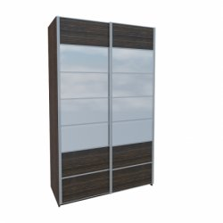 Wardrobes with sliding doors - Novelts Nicol МН-020-01С warderobe with mirror Sale Furniture