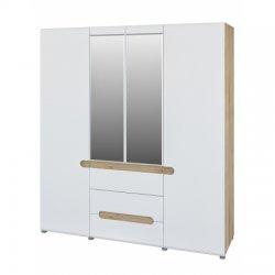 Leonardo МН-026-09 skapis - Skapji 4-durvju - Jaunumi - NoPirkt KurPirkt Mēbeles