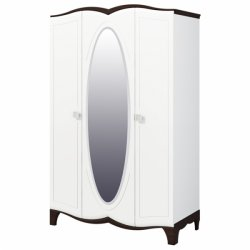 Тиффани МН-122-03 шкаф. Шкафы 3-дверные. Направляющие для раздвижных столов минск
