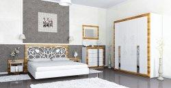 Гарнититуры спальные. Спальные кровати русская классика. Лотос спальня