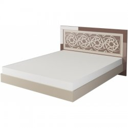 Ellipse МН-118-01 gulta. Baltkrievijas gulamistabas mebeles. Divguļamās gultas