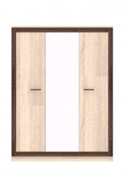 Wardrobes with sliding doors - Novelts Boss BS 22 warderobe with mirror Sale Furniture