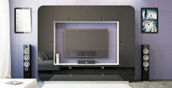 iMeb черная секция - Секции Модерн  - Новинки - Купить Мебель