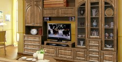 Florence I wall unit - Belarus - BY - Classic wall units - WALL, UNITS, Showcases