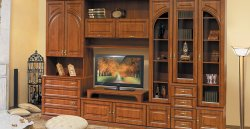 Florence II wall unit - Belarus - BY - Classic wall units - WALL, UNITS, Showcases