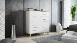 Cama meble Lotta 2D4S chest of drawers Poland