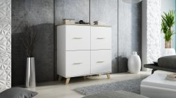 Cama meble Lotta 4D chest of drawers Poland