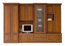 Wiki B classical style wall unit - Poland - Black Red White ( BRW ) - Classic wall units - WALL, UNITS, Showcases