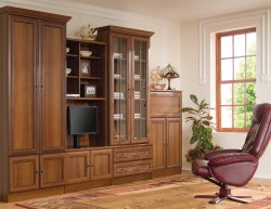 Wiki D classical style wall unit - Poland - Black Red White ( BRW ) - Classic wall units - WALL, UNITS, Showcases