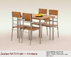 Natan, 12. Stol stul embavud. Tables and chairs (sets)