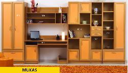 Mukas 2. Фото детских и молодёжных мебелей. Секции Молодежные