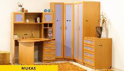 Фото деревянных и стеклянных столов скачать бесплатно. Mukas. Секции Молодежные