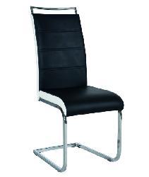 Krēsls H-441. . Balta āda