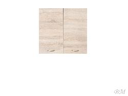 Iebuuveetu skapju izgatavosana Augšējais skapis JUNONA LINE - G2D/60/57 Augšējās skapīši