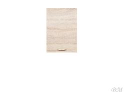 Iebuuveetu skapju izgatavosana. Augšējās skapīši. Augšējais skapis JUNONA LINE-G1D/40/57_LP