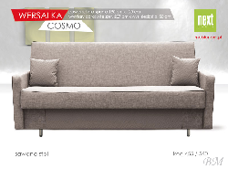 Upholstered furniture store COSMO 3 folding sofa Sale Furniture