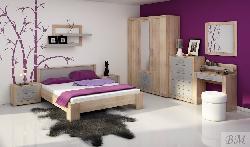 Guļamistabas iekārtas Plumju krasas gulta Mēbeles guļamistabā Viki