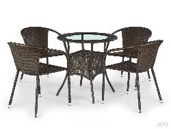 MIDAS столик. . Плетёная мебель rotang lv