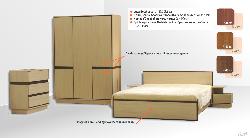спальня кензо - ГАРНИТУРЫ СПАЛЬНЫЕ - ROMBAS спальня