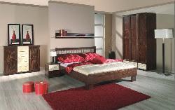 Guļamistabas skapītis sienas. Gracja komplekts. Guļamistabas iekārtas