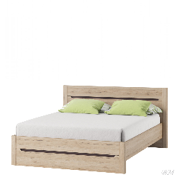 Desjo 50 bed 140. Bed farnichar dizain. One and half beds