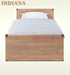 Мебель индиана 3д модель. Односпальные кровати. Indiana Jloz 90