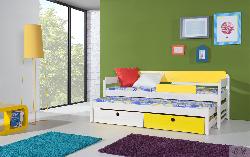 Детская кровать NATU 1 Кровать трех ярусная Кровати Кроватки