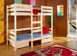 Двух итажные детцкие комнаты. Кровати двухъярусные. Bartosz