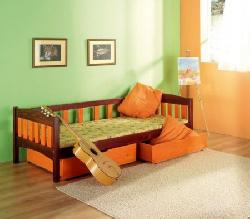 Zuzanna. Berna gultas platums. Gultiņas Gultas